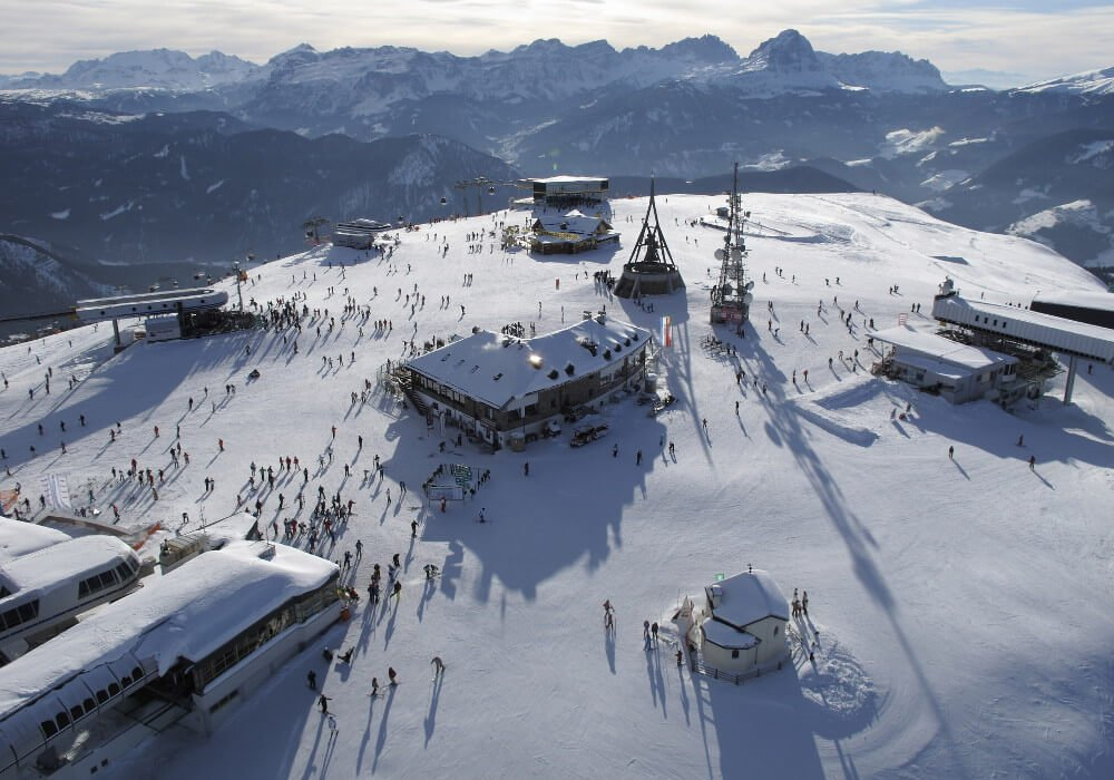 Plan de Corones – A popular ski resort