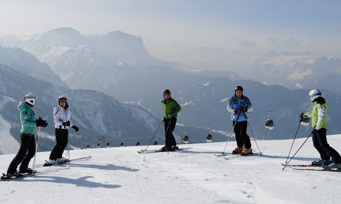 Besonderheiten im Gadertal: Heimat großer Skilegenden